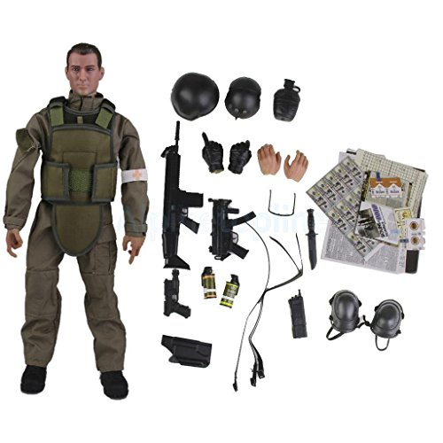 """12"""" 1/6 Military Army Medical Soldier War Game Action Figure Model Kids Toy"""