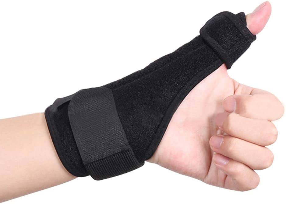 SITAKE 1Pc Adjustable Thumb/& Wrist Brace//Thumb Wrist Brace//Thumb Stabilizer//Thumb Splint for Arthritis Tendonitis Sprained Thumb Symptoms