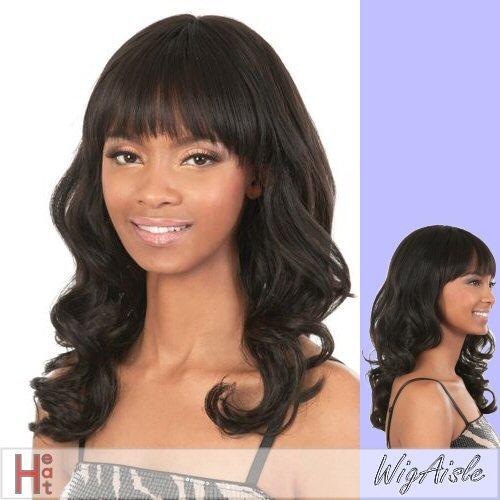 [GGC-GYPSY (Motown Tress) - Heat Resistant Fiber Full Wig in 1B] (Gypsy Wigs)