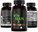 Cheap All Natural Brain Supplement – Increases Clarity, Improves Memory & Mood, Boosts Focus & Intelligence – Scientifically Formulated Nootropic for Cognitive Enhancement – Ginkgo Biloba – Elite BrainRx