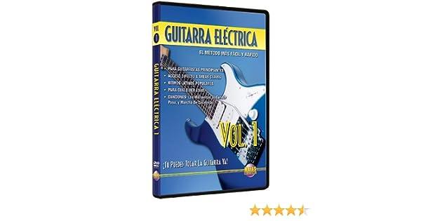 Amazon.com: Guitarra Electrica, Vol 1: Tu Puedes Tocar La Guitarra Ya! (Spanish Language Edition) (DVD): Movies & TV