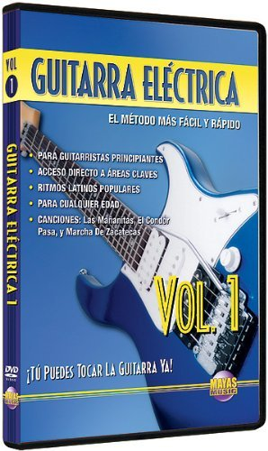 Amazon.com: Guitarra Electrica, Vol 1: Tu Puedes Tocar La Guitarra Ya! (Spanish Language Edition) (DVD): Movies & TV