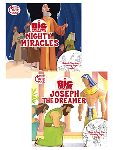 Mighty Miracles/Joseph The Dreamer Flip-Over Book (The Big Picture Interactive / The Gospel Project)