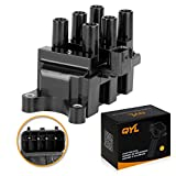 2003 ford taurus ignition coil - QYL Ignition Coil Pack for Ford Mazda Mercury F-150 Econoline Mustang Ranger Taurus B3000 MPV Cougar Monterey Sable FD498 C1312 DG485