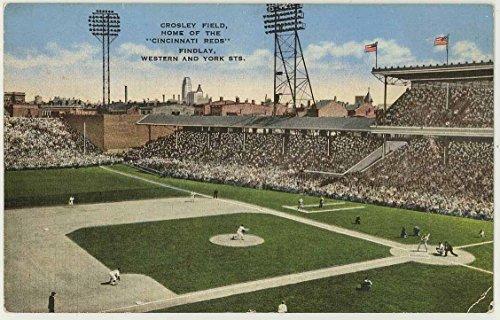 Crosley Field - Home of the Cincinnati Reds - Ohio