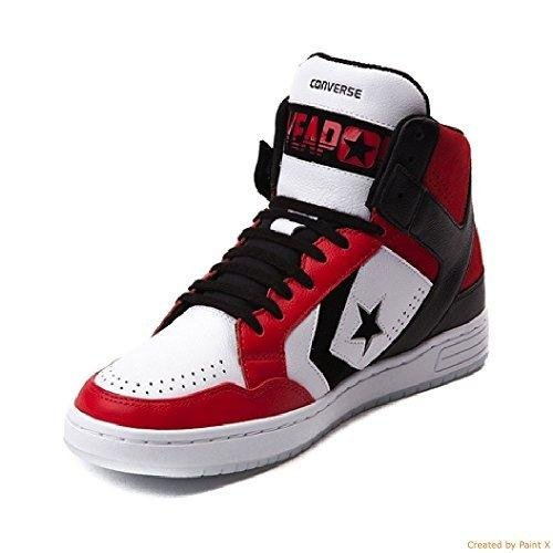 1260089f3f4a Converse Weapon Mid Dr. J Men s Basketball Sneakers Red 12 D(M) US  Buy  Online at Low Prices in India - Amazon.in