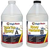 Magic Resin | 1 Gallon (3.8 L) | Premium Quality Clear Epoxy Resin