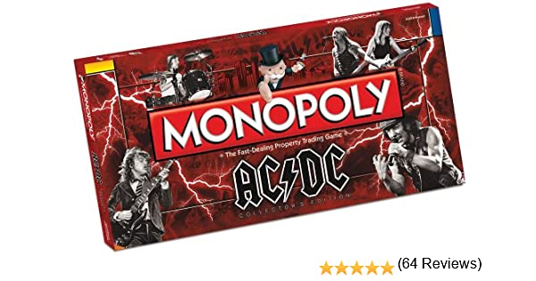 Import Anglais]AC/DC Monopoly Board Game: Amazon.es: Juguetes y juegos