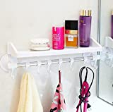 Hyun times Strong sucker bathroom shelf bathroom toilet bathroom wall rack storage rack supplies pod