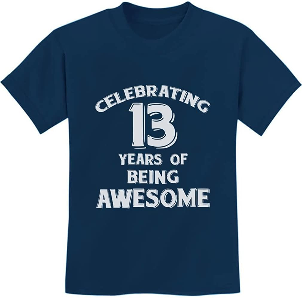 13 Years of Being Awesome! Birthday Gift for 13 Year Old Youth Kids T-Shirt 51hJdi279qL
