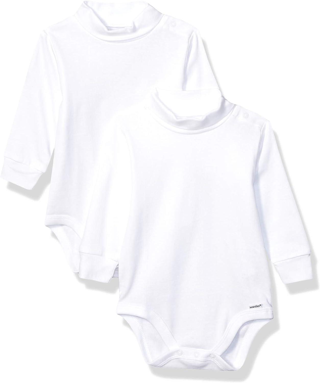 Gerber Baby 2-Pack Long Sleeve Turtleneck Onesies Bodysuits
