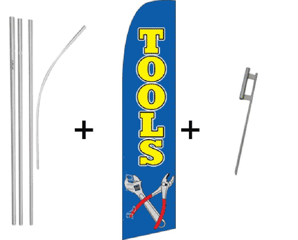 Tools Quantity 2 Super Flag & Pole Kits