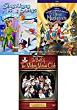 Swashbuckling adventure 3 Pack Disney's Three Musketeers / Peter Pan Sing Along Songs You Can Fly + Best of the Mickey Mouse Club DVD fun Family set