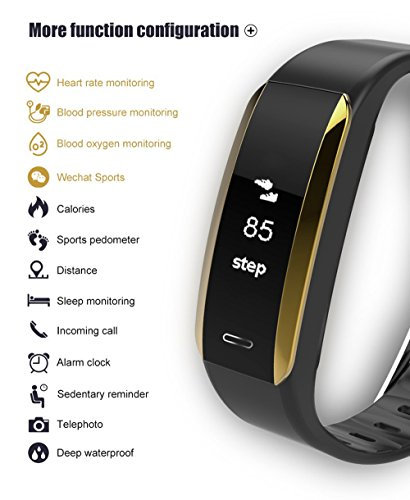 HR Activity Tracker Regular Fit, Color Screen Activity Tracker Watch with Calorie Counter Heart Rate Sleep Monitor Pedometer Smart Bracelet for Women Men Kids for Android iOS