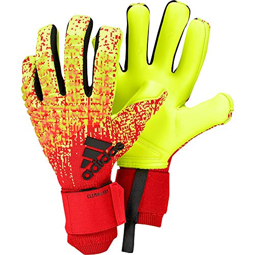 (adidas Predator PRO Climawarm Goalkeeper Gloves Warm Hands on Cold Days Goalkeeping Gloves for Soccer)