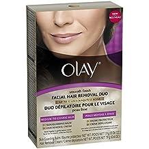 Olay Smooth Finish Facial Hair Removal Duo - Medium To Coarse Hair, Box. by Olay