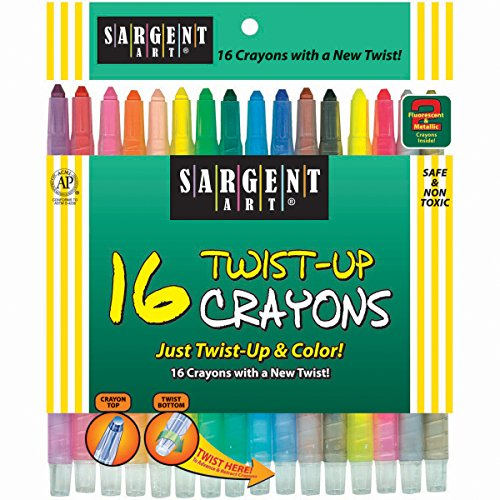Twist Up Crayons pack of 16