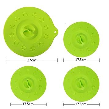 Refrigerador Tapa de silicona Tapa fresca Microondas ...