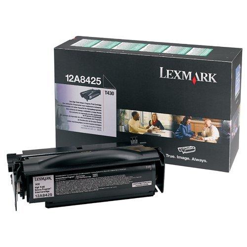 (LEX12A8425 - Lexmark T430 High Yield Return Program Print Cartridge)