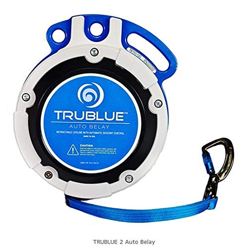 OmniProGear TRUBLUE Auto Belay self-regulating Magnetic Braking System up to 41 feet Made in USA