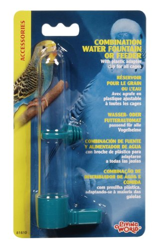 Living World Combo Waterer and Feeder, Small