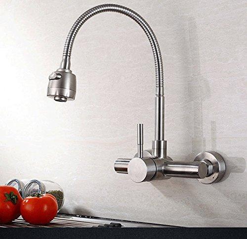 MMYNL Küchenarmatur Armatur Küche Wasserhahn Moderne Alle Kupfer Kalt Heiß  Spültischarmatur