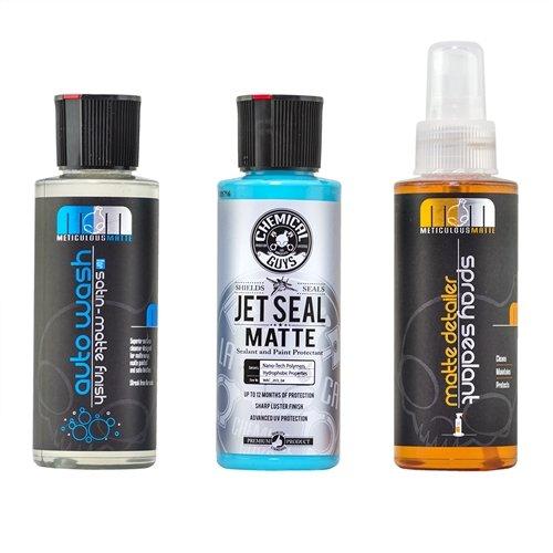 Car Spray Kit Matte: Chemical Guys HOL99504 Matte Detail Kit (4oz), 12 Fl. Oz