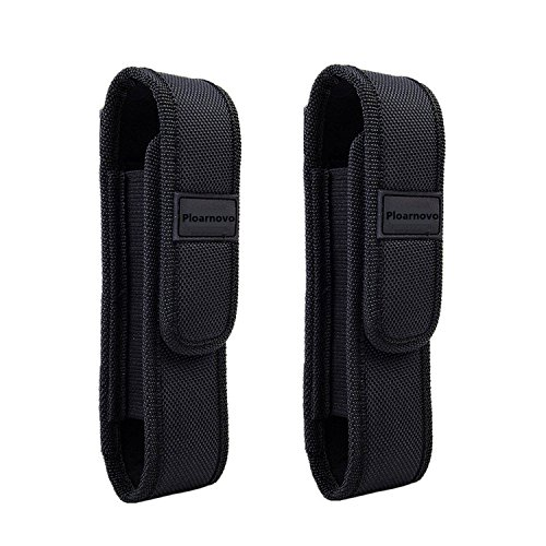 - Ploarnovo 2Pcs Flashlight Holster Pouch Holder for 5
