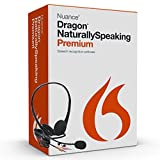 Nuance Dragon Naturally Speaking Premium Version 13 Speech Recognition Software
