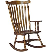 International Concepts Solid Wood Rocker, Espresso