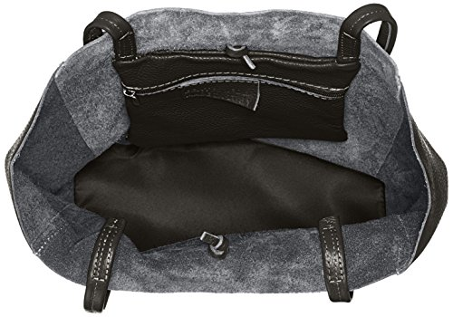 Bags4Less Maria, Borse a spalla Donna Nero (Schwarz)