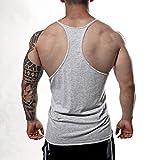 Manstore Men's Gym Stringer Tank Top Bodybuilding