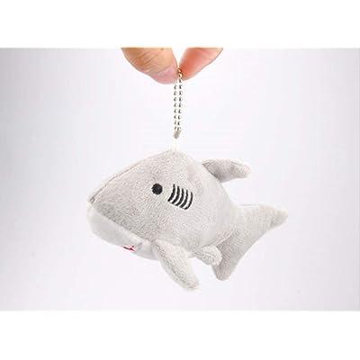 WYBL Tiburón Felpa Juguetes Rellenos de Animal tiburón Juguetes de Felpa para niños Amigos Regalo 14 cm Blanco: Juguetes y juegos