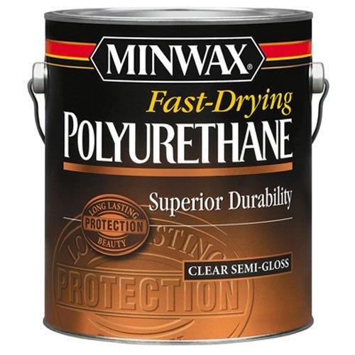Minwax 71029000 Fast-Drying Polyurethane, gallon, Semi-Gloss