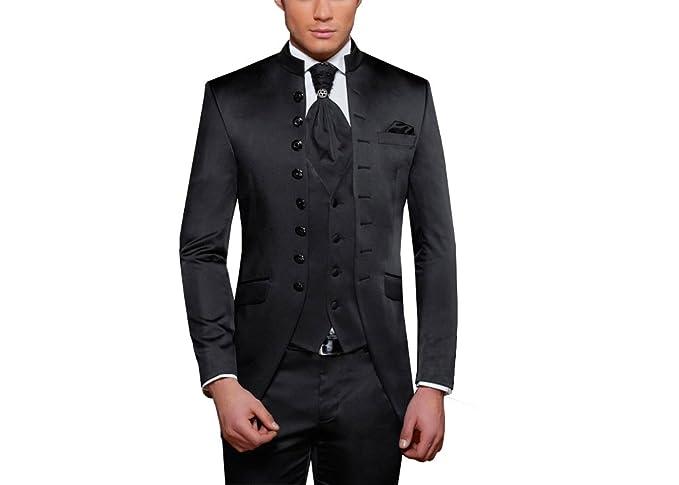 MUGA Traje de boda - Hombre negro 62: Amazon.es: Ropa y ...