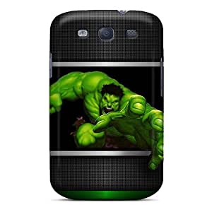 Durable Hard Phone Cover For Samsung Galaxy S3 With Unique Design Stylish Hulk 3d Image ErleneRobinson