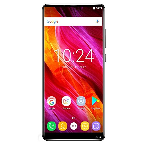 Generic OUKITEL MIX 2, 6GB+64GB, Dual Back Cameras, Fingerprint Identification, 5.99 inch Android 7.0 MTK6757 / Helio P25 Octa Core up to 2.39GHz, Network: 4G, Dual SIM, OTG(Black)