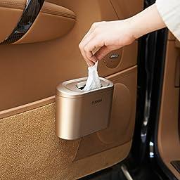 X&L Modern creative car storage box fashion mini car trash can 15.5 7 11cm