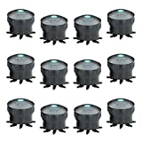 PEPCO Wholesale Octa Bubbler 8 Outlet Water Drip Feed Irrigation, 12 Piece, Blue