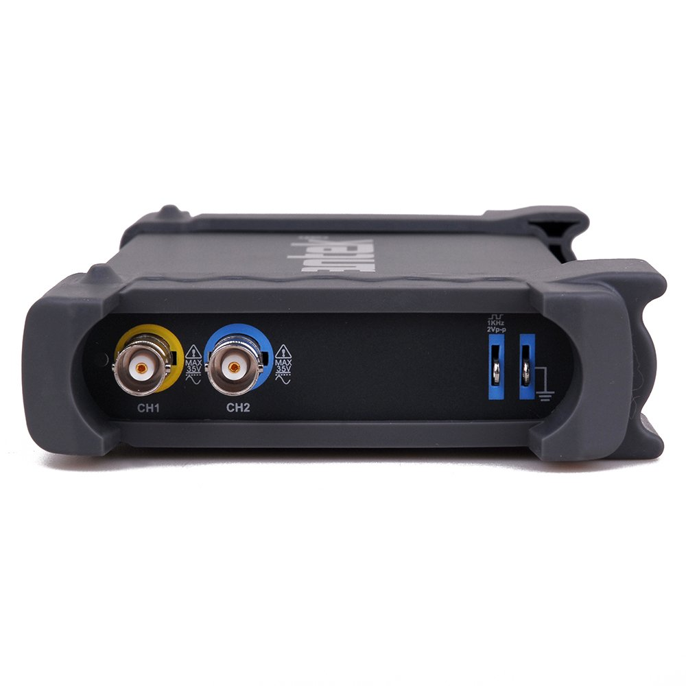 20 MHz Hantek 6022BE oscilloscopio con memoria digitale modello 6022BE basato su pc USB a due canali 48 MSa//s
