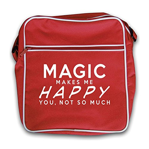 Makes Me Red Retro Flight Red Happy Magic Makes Magic Bag qCwtq1E