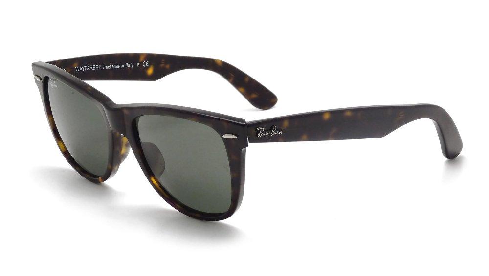 Ray-Ban Sunglasses - RB2140 Wayfarer / Frame: Tortoise Lens: Green (54mm)