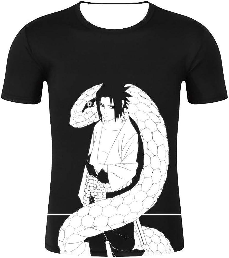 GOYING Camiseta Unisex de Manga Corta Naruto Sasuke Contenido: impresión 3D, Otaku, Juegos de rol, cómics, Dibujos Animados: Amazon.es: Ropa y accesorios