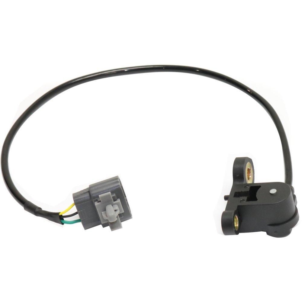 Evan-Fischer EVA1191211610 New Direct Fit Crankshaft Position Sensor for Mazda 626 98-02 Protege 99-03 Protege5 02-03 3 Female Terminals Blade Type