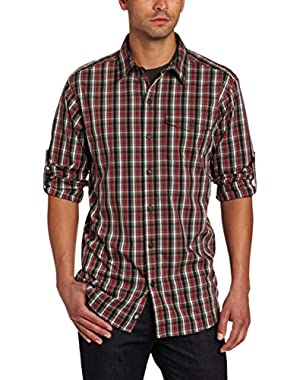 Men's Utilizer Plaid Long Sleeve Shirt