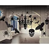 Shocktails Gothic Glitter Room Decorating Kit (Small Image)