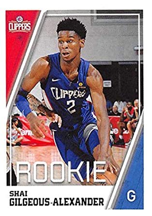 2018-19 Panini NBA Stickers Basketball  266 Shai Gilgeous-Alexander RC  Rookie Card ff34c131b