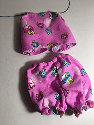 Fits Luvabella Doll Clothes Purple Panties Bloomers Underwear Lot of 3 pcs Handmade