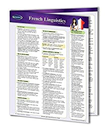 French Linguistics Guide - Languages Quick Reference Guide by Permacharts