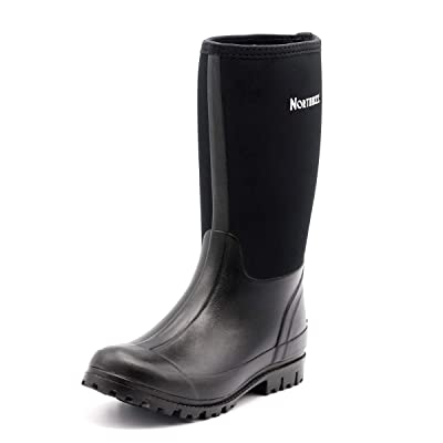 Buy Northikee Men's Rain Boots Rubber Hunting Insulated Waterproof Slip  Resistant Neoprene Black Outdoor Snow Durable Boots Online in Philippines.  B07HC2ZGXH